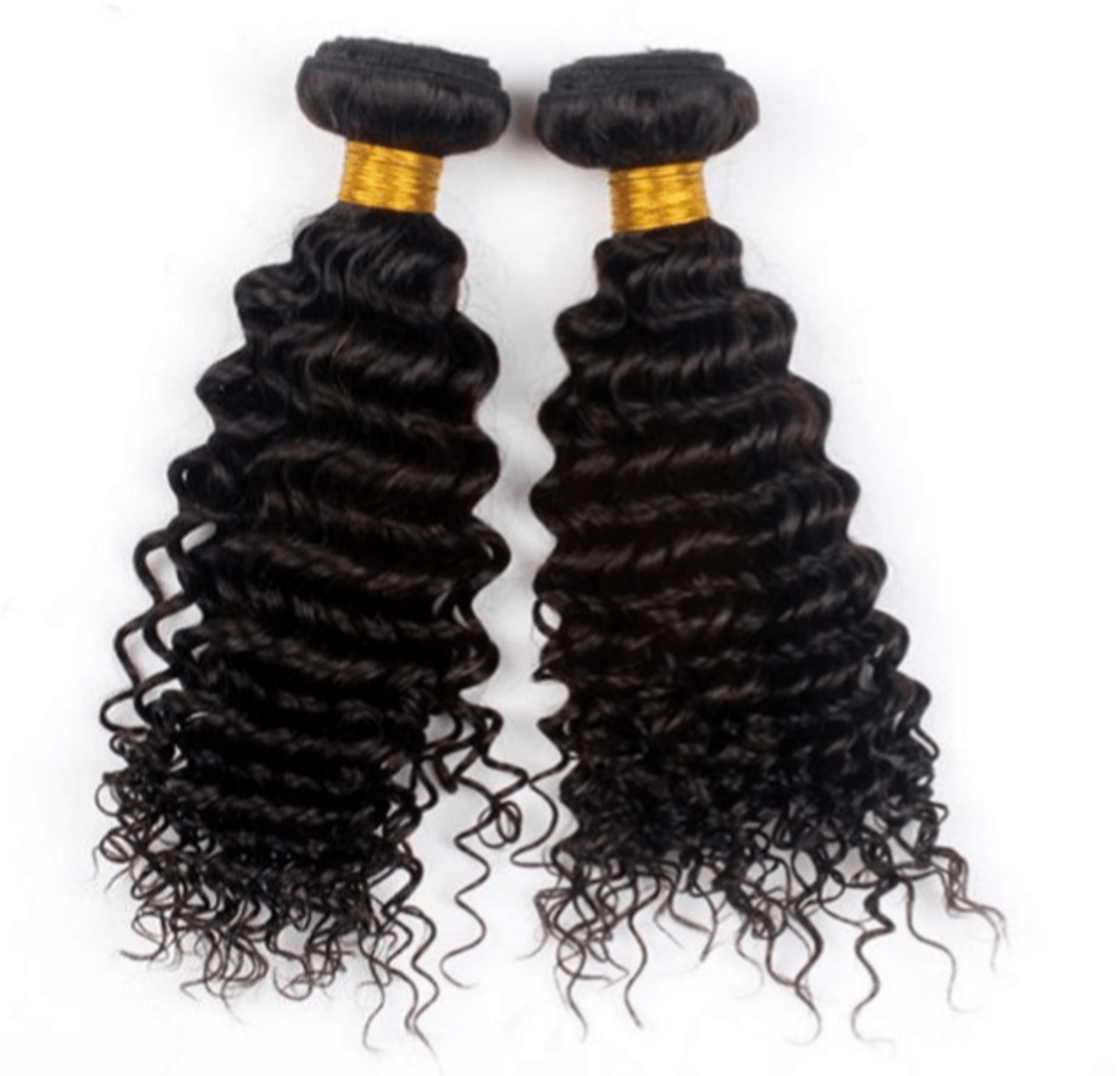Two (2) Bundles of Silky Deep wave grade 10a - mslhair