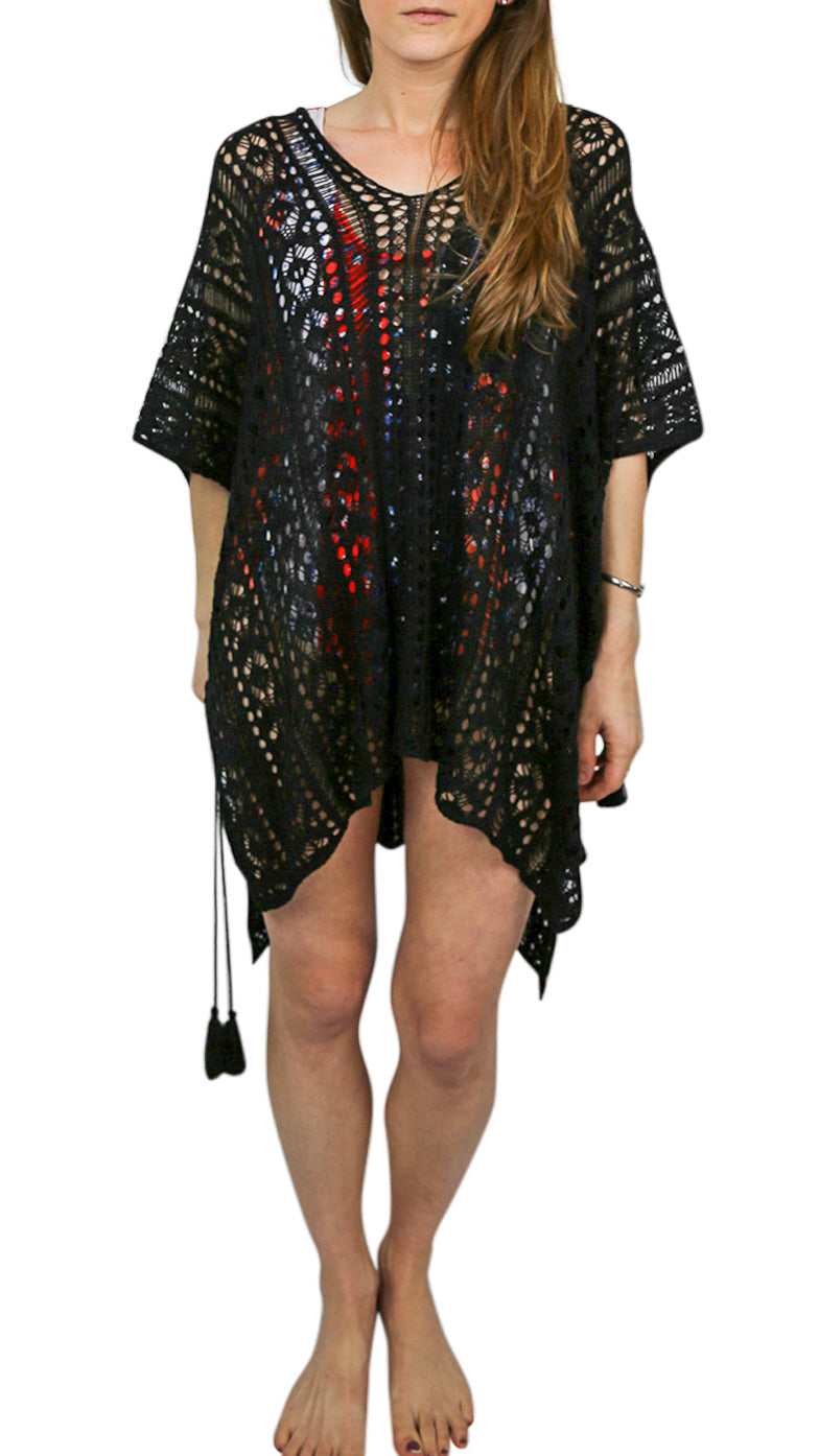 Stevie Crochet Cover Up