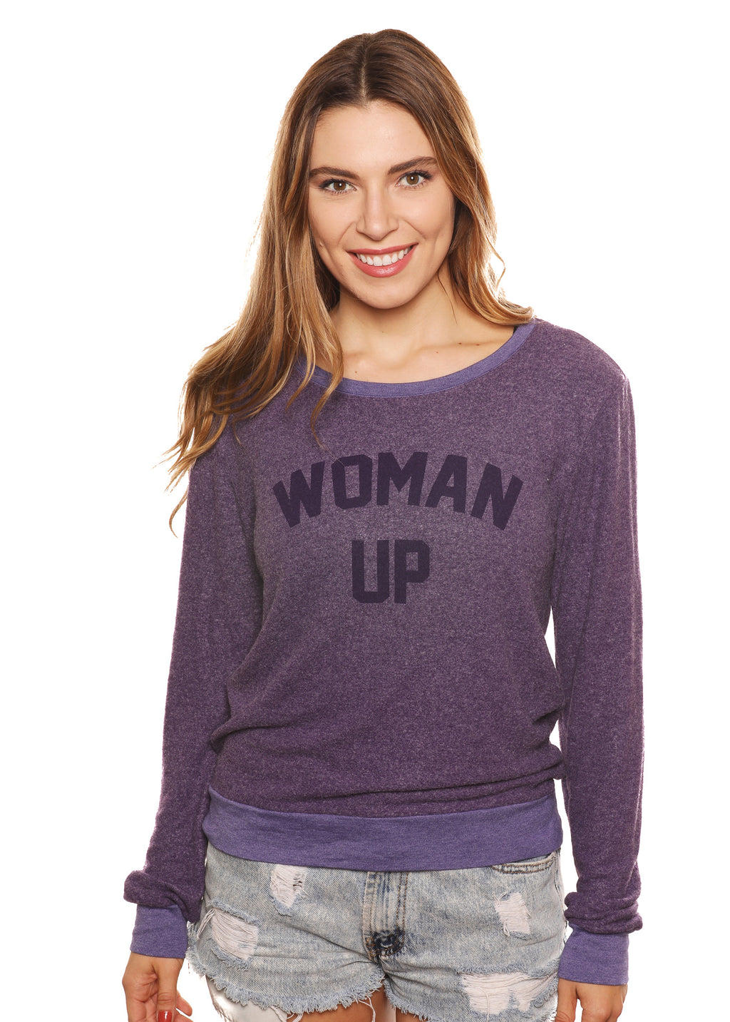 """Woman Up"" Graphic Sweatshirt"