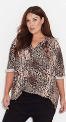 17 Sundays Leopard top