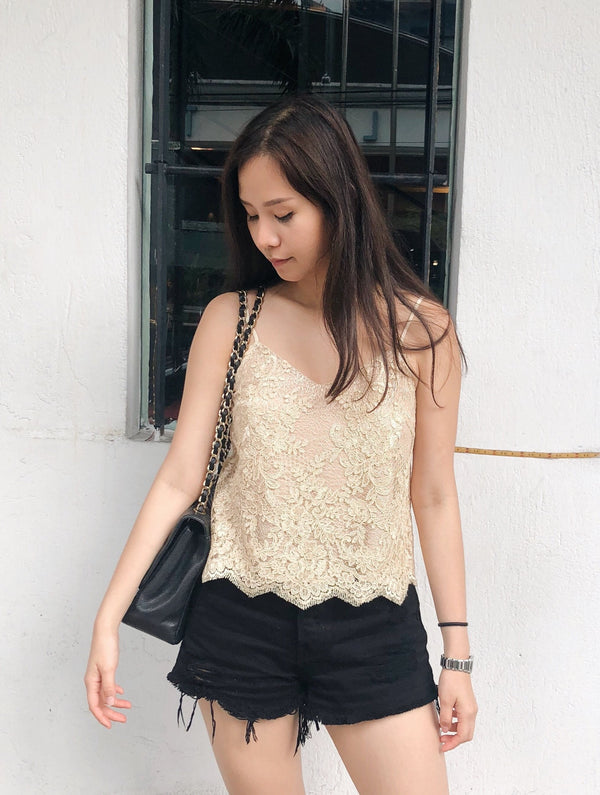 Exclusive Olivia lace top
