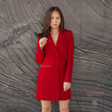 SPECIAL CNY20 RED SUIT DRESS