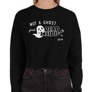 Dead Inside Crop Sweatshirt