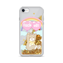 Fuck Off Teddy iPhone Case