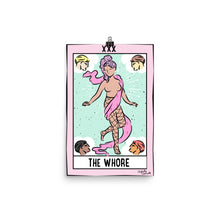 The Whore - Tarot Card Poster