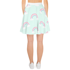 Rainbow Dreams Skater Skirt