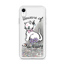 Beware of This Pussy Glitter iPhone Case
