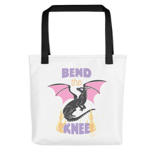 Bend the Knee Tote Bag