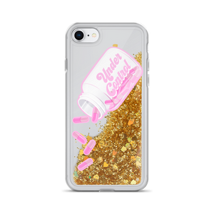Under Control K-12 Medication Liquid Glitter Phone Case