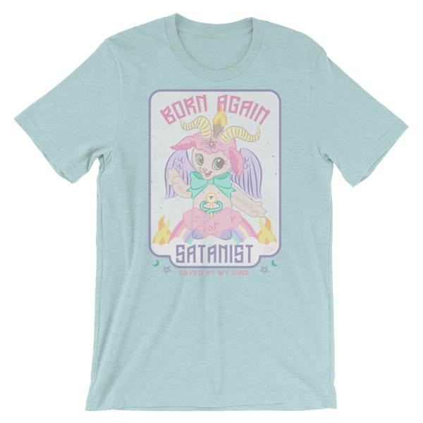 Born Again Satanist Tee