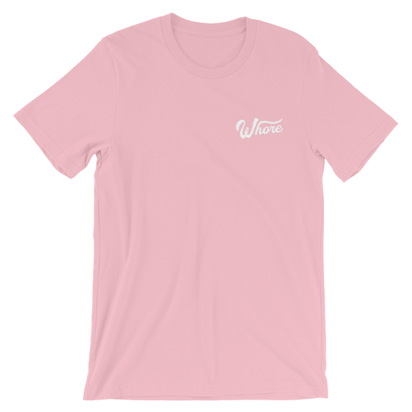 Whore Embroidered Tee