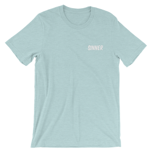 Sinner Embroidered Tee