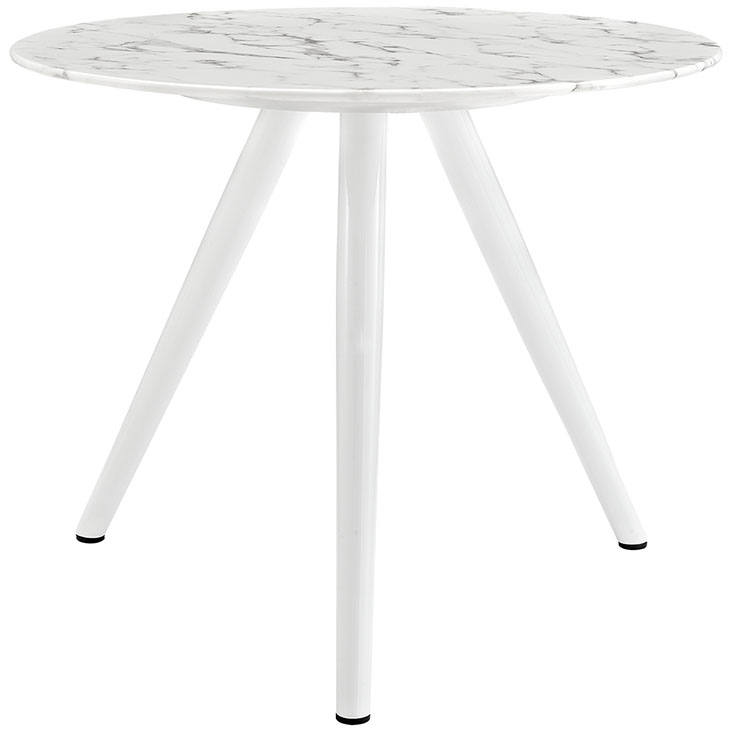 Luxy faux marble dining table