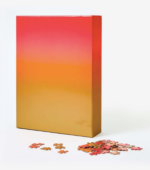 Sahara Sunset Puzzle Art - Large