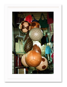 Balls on Balls Framed Print
