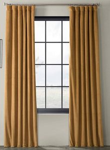 Signature Blackout Velvet Curtain
