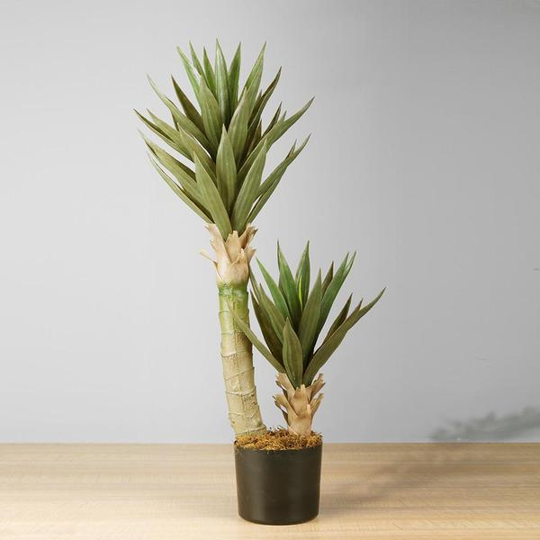 REMI ARTIFICIAL ALOE TREE POTTED PLANT 3'
