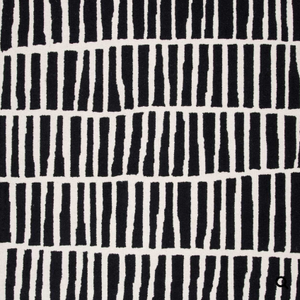 Hand Tufted Bar Code Rug