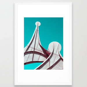 A Surrealist Montreal #2 Framed Print