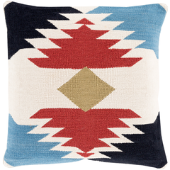 Kilim with Kindness Throw Pillow