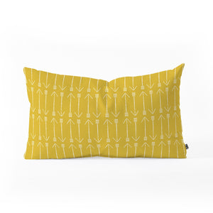 Arrows on Arrows Throw Pillow