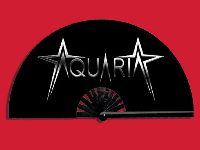 God's Fan with Aquaria Logo