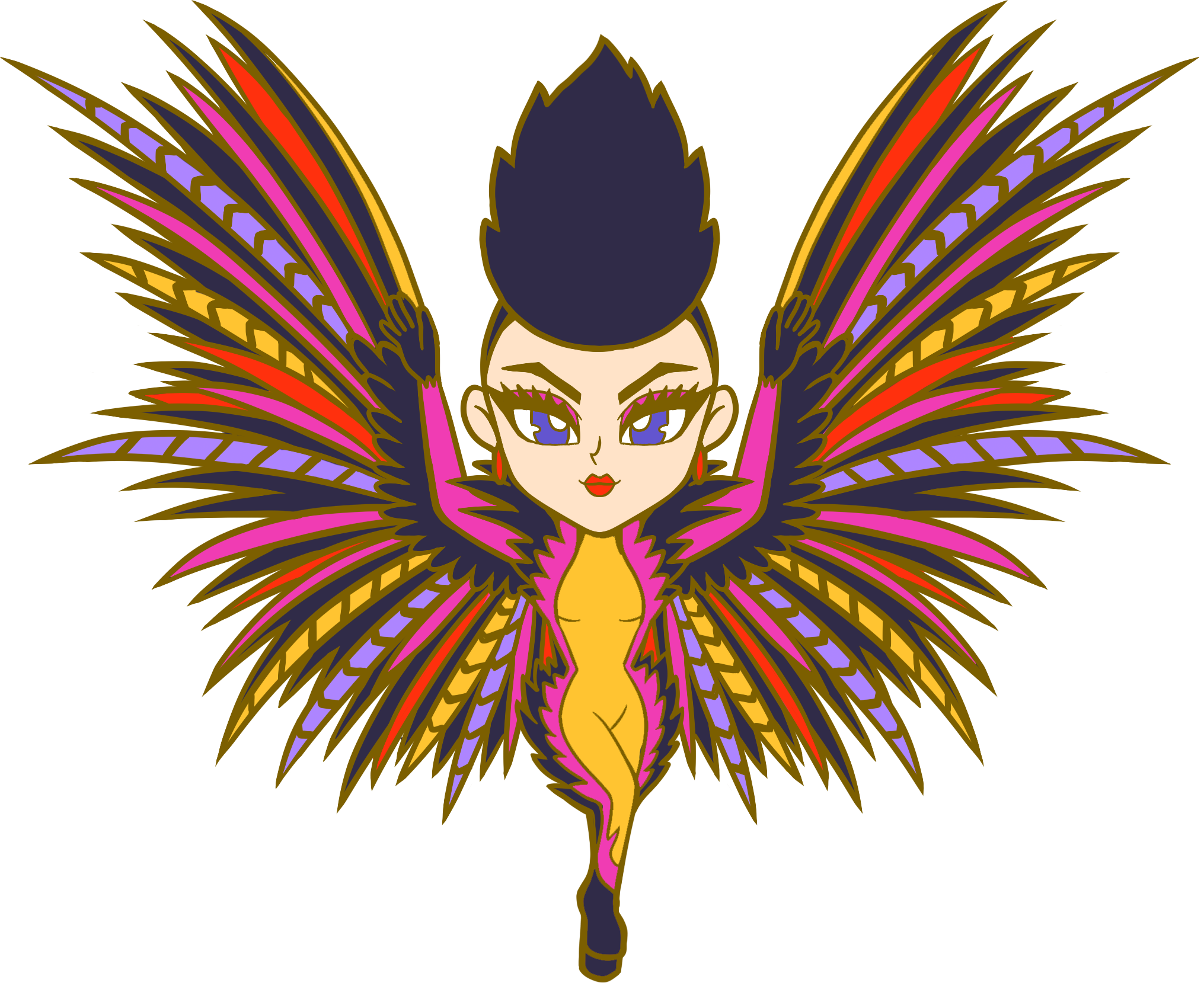 *NEW* Aquaria Harpy Pin