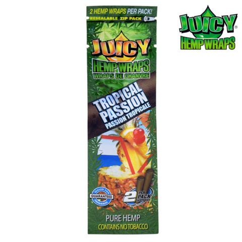 Juicy Hemp Wraps - Tropical Passion