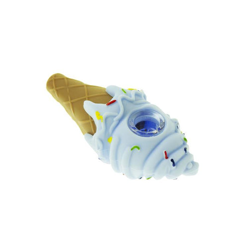 Silicone Ice Cream Pipe - Blue