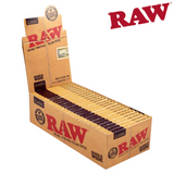 RAW Single Wide Double Window Papers - Box (25 Packs)