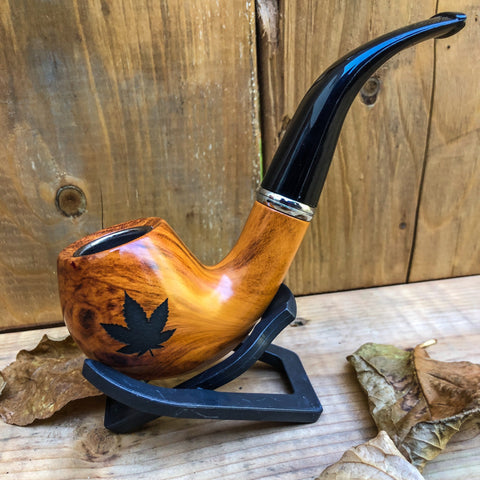 Classic Wood Pipe - Tan