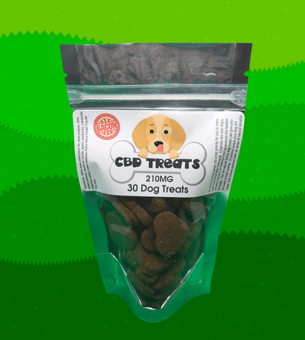 Hemp CBD Dog Treats - 210MG - 30pcs