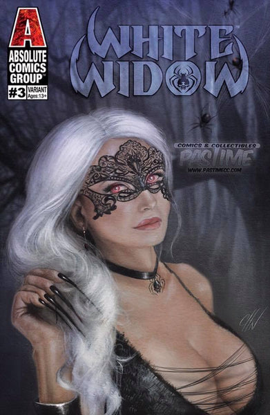 White Widow #3 (Carla Cohen Exclusive Trade Dress)