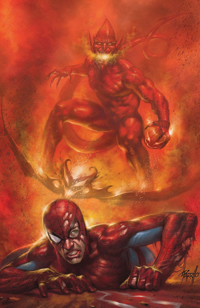 Red Goblin Red Death #1 Lucio Parrillo Variant Set