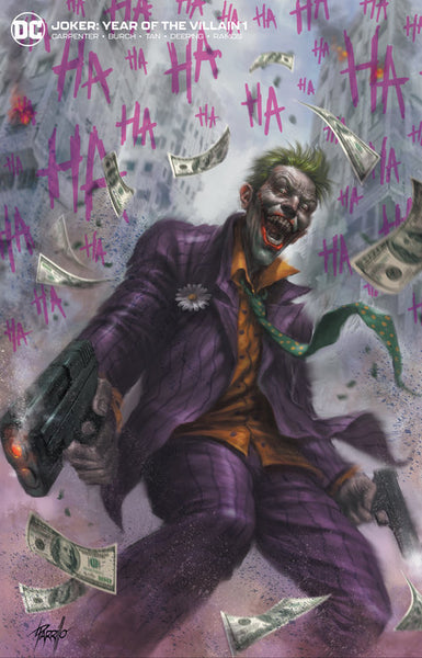 The Joker #1 Lucio Parrillo Variant Set