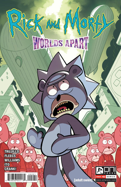 RICK AND MORTY WORLDS APART #2 CVR B WILLIAMS