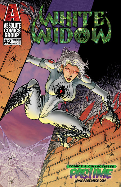 White Widow #2 Exclusive - Trade Dress