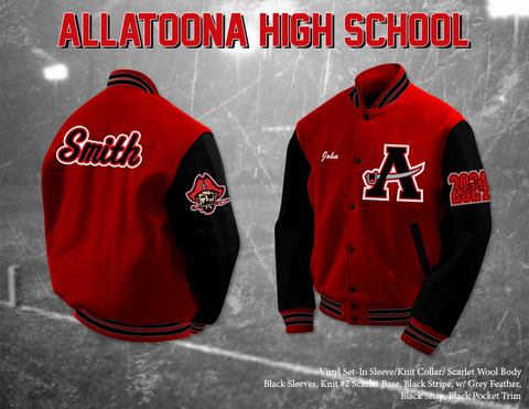 Allatoona HS Letterman Jacket