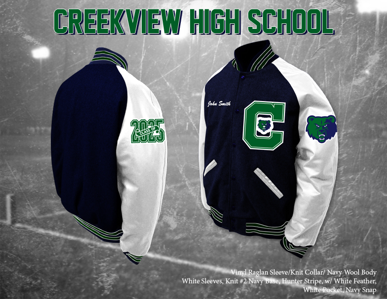 Creekview HS Letterman Jacket