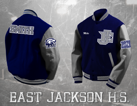 East Jackson HS Letterman Jacket