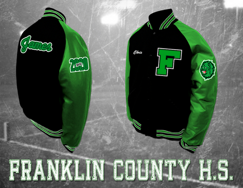 Franklin County HS Letterman Jacket