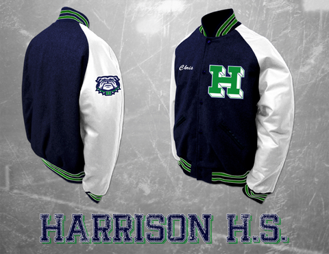 Harrison HS Letterman Jacket