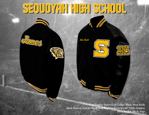 Sequoyah HS Letterman Jacket