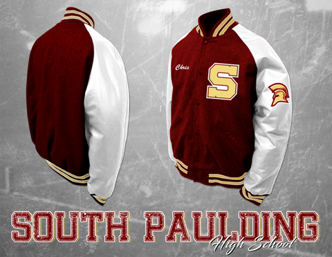 South Paulding HS Letterman Jacket