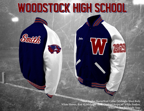Woodstock HS Letterman Jacket