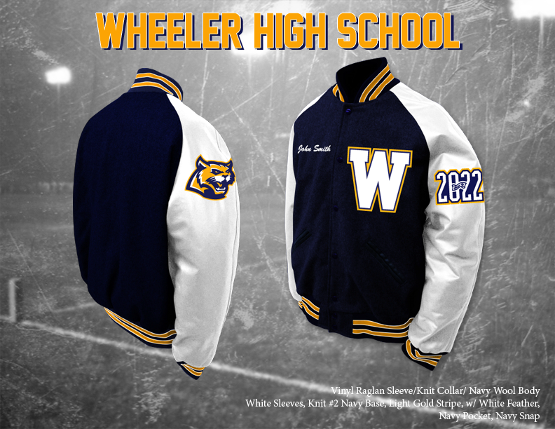 Wheeler HS Letterman Jacket