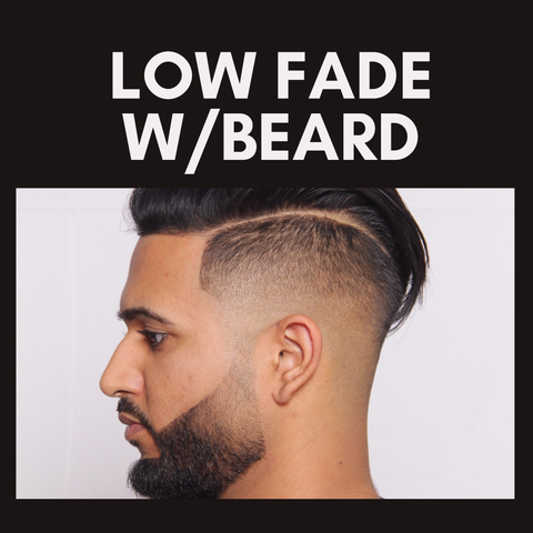 NASHVILLE 2020  LOW FADE W/BEARD competition.