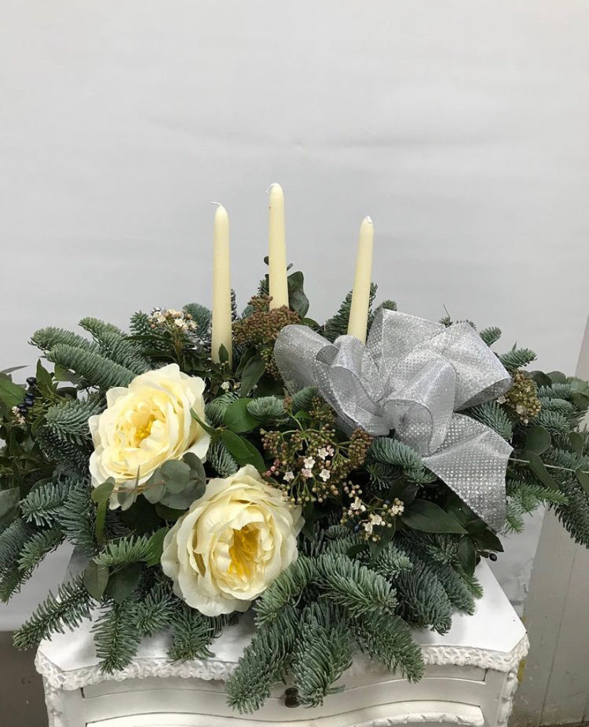 F E S T I V E - Fresh Pine Christmas Arrangements