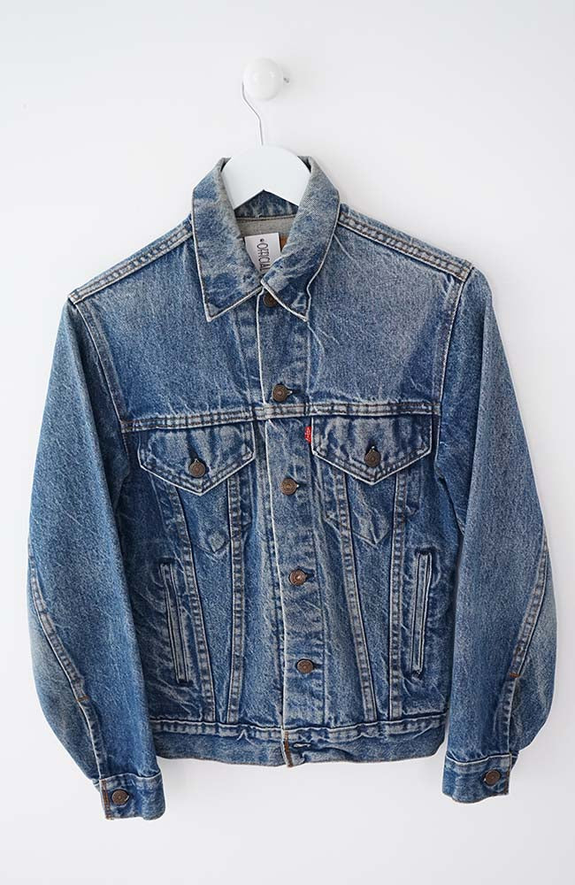 VINTAGE LEVIS DENIM JACKET (S) 90's