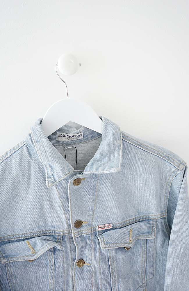 VINTAGE GUESS USA JEANS DENIM JACKET (S)